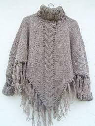 ponchos de lana - Buscar con Google