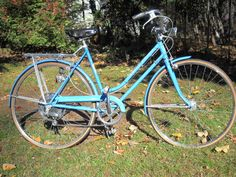 "1973 Schwinn Suburban 5-speed. 21"" frame (measured from the top of the seat tube to the middle of the bottom bracket). All original and complete. 27 x 1 ¼ tires. Schwinn-branded rear rack. Generator and lighting work."