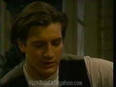 Nathan Fillion's first (I think) appearance as Joey Buchanan on One Life To Live. Check out that long, pretty hair!
