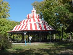 The Turkish pagoda at Tower Grove Park in St Louis