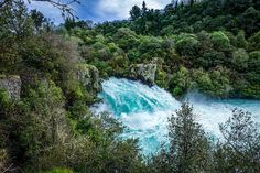 Girl Consumed by Wanderlust | Week One  Hua Falls Taupo, New Zealand