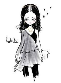 Illustration by Candybird / Rodarte A/W 2013