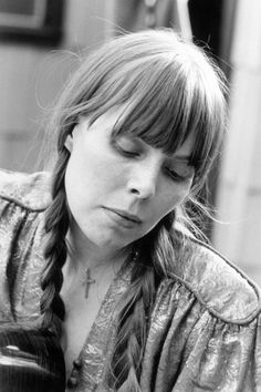 Joni Mitchell - this woman is my absolute musical idol - she is a genius.