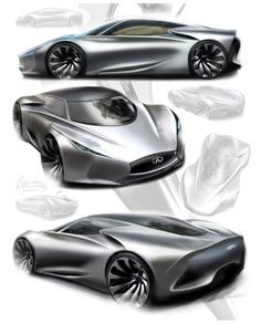 Hyundai concept car sketch