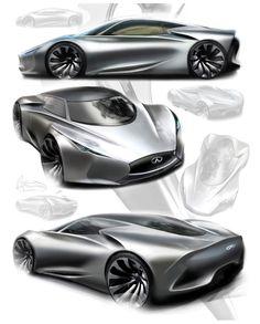 Hyundai concept car sketch