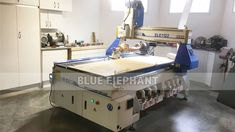 1122 4 Axis Woodworking CNC Machine with Rotary Device for Our Canadian Customer