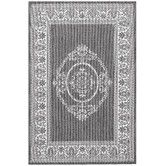 Found it at Wayfair - Recife Antique Medallion Grey/White Indoor/Outdoor Rug FOR 2ND. BEDROOM
