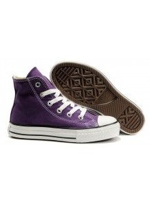 30d0e9914ce7 Kids Converse Shoes Violet Chuck Taylor All Star Hi