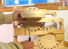 Step by step make your own marble machine.  The kids would love this!