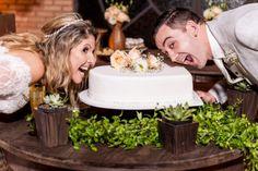 Cake time!  Heart Shape Wedding Cake