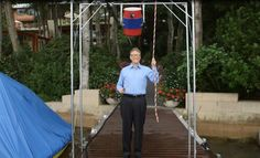 Bill Gates Takes The Ice Bucket Challenge To A New Level With Ridiculous Machine.