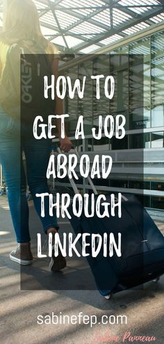 With already over 100 million users worldwide, LinkedIn is the most powerful network of professionals and there are many ways to take advantage of this platform to optimize your overseas endeavours and land your dream job abroad. Job Interview Tips, Job Interviews, Interview Questions, Interview Techniques, International Jobs, Travel Jobs, Job Search Tips, Work Abroad, Career Advice