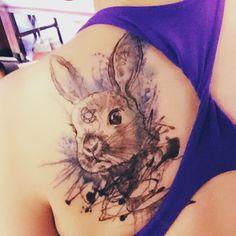 #bunny#rabbit tattoo