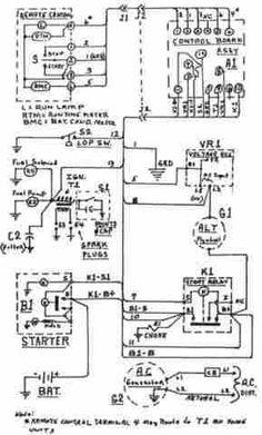 onan generator wiring diagram for model 65NH-3CR/16004P