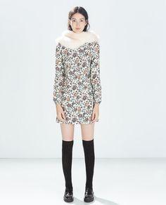 Image 2 of RETRO PRINTED DRESS from Zara