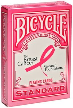 Bicycle Breast Cancer Research Foundation Playing Cards Bicycle at amazon.com