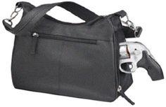 GTM Conceal Carry Basic Hobo Handbag, Black, Women's, Size: Small