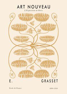 Art Nouveau Grasset Poster