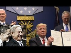Jan 29 2017  TRUMP Vs SOROS/BATTLE OF THE BORDERS (Anyone know the symbolic origins of the plaque on the wall behind Trump? Is it Scottish Freemasons symbols or something else?)