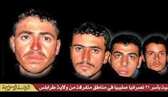 "in the context of, yet again, ""collective punishment."" Photo of kidnapped Copts on The International Jihad Network Libya website. Morning-Star-News pinned 18Feb15"