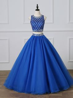ADLN Gorgeous Three Pieces Quinceanera Dresses Royal Blue Quinceanera Dresses, Prom Dresses, Formal Dresses, Royal Blue Dresses, Custom Dresses, Dress And Heels, Dress Making, Ball Gowns, Evening Dresses