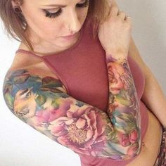 Arm tattoos for women goes beyond being feminine, sexy, subtle and bold - there are meanings and messages behind them too. Read on and see examples.