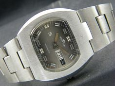 VINTAGE UNUSED FORTIS AUTOMATIC SWISS MEN'S DAY/DATE WATCH ETA#2789 a52951