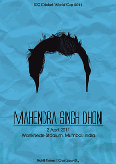 World Cup 2011 Captain - Mahendra Singh Dhoni