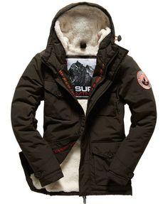 Superdry Military Everest Jacke Grün