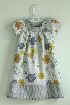 little girl dress pattern - kwik sew 3905 Sewing Kids Clothes, Sewing For Kids, Baby Sewing, Diy Clothes, Dress Clothes, Barbie Clothes, Barbie Barbie, Kids Clothing, Clothing Ideas