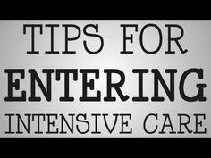 Graduate Nurses   Tips For Entering Intensive Care - YouTube