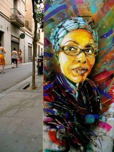 Barcelona street art (Spain)