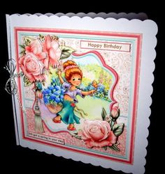 STILL GOT A SPRING IN YOUR STEP 8x8 Mini Kit on Craftsuprint designed by Janet Briggs - made by Dianne Jackson