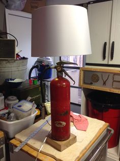 SCBA Lamp. Love the maltise on the bottom. | I Love My ...