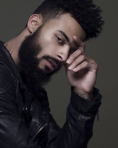 Model Reek Ivan photographed by Great Beards, Beard Styles For Men, Beard Love, Beard Gang, Good Looking Men, Black Men, Black Boys, Facial Hair, Fashion History