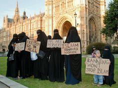 Westminster niqabis
