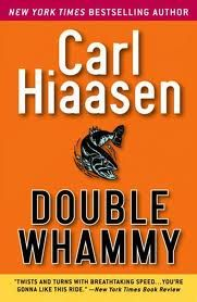 Double Whammy by Carl Hiaasen. Decker, star tenant of the local trailer park and neophyte private eye is fishing for a killer. Bass Tournaments, Carl Hiaasen, Books To Read, My Books, Music Books, Important Life Lessons, Thriller Books, Great Books, Reading Lists