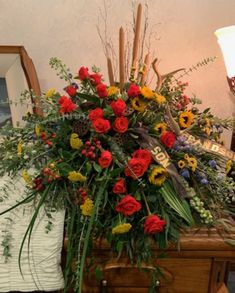 Full service florist with a small town smile! Remembrance Flowers, Memorial Flowers, Casket Flowers, Funeral Flowers, Funeral Floral Arrangements, Flower Arrangements, Cemetary Decorations, Funeral Caskets, Flowers For Men