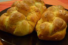 Parmesean roasted garlic challah.