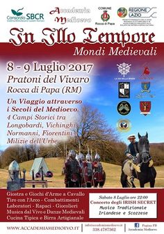 """Italia Medievale: """"In Illo Tempore"""" a Rocca di Papa (RM)"""