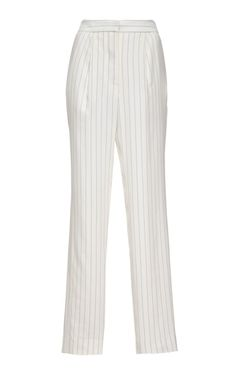 Striped Crepe Pants by Thakoon Now Available on Moda Operandi