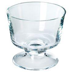 JULFINT Serving bowl - clear glass - IKEA
