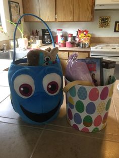 Our Easter baskets!