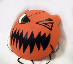 Papier Mache Kingdom Hearts Sora's Halloween Town Mask