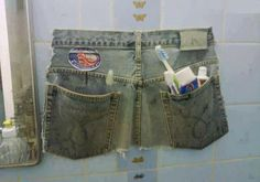 calças de ganga