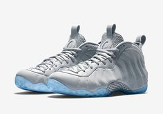 "Nike Air Foamposite One Suede ""Wolf Grey"" - Official Images - SneakerNews.com"