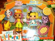 Mini Lalaloopsy Wacky Hatter Alice in Lalaloopsyland Mint Adorable | eBay