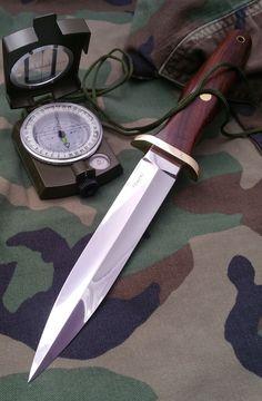 Manaresso Knives - my humble interpretation of Applegate-Fairbairn dagger.