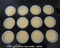 MAGDALENAS, SIN GLUTEN Y SIN LACTOSA Cake Pops, Muffins, Food And Drink, Gluten Free, Cupcakes, Recipes, Tortillas, Queso, Chocolates