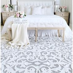 Shop My Texas House by Orian Indoor/Outdoor Lady Bird Natural Area Rug - x - On Sale - Overstock - 28731510 Master Bedroom, Bedroom Decor, Bedroom Ideas, Bedroom Area Rugs, Preppy Bedroom, Glam Bedroom, Bedroom Designs, Natural Area Rugs, Texas Homes